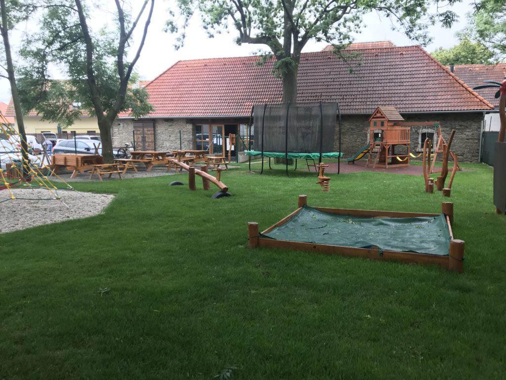 Stodola Herink - dětské hřiště