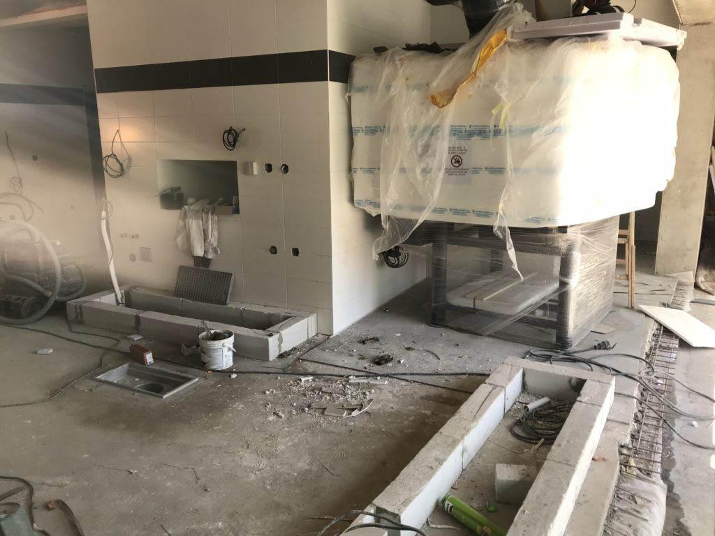 Stodola Herink Stavba Kuchyně - zabalená italská pec