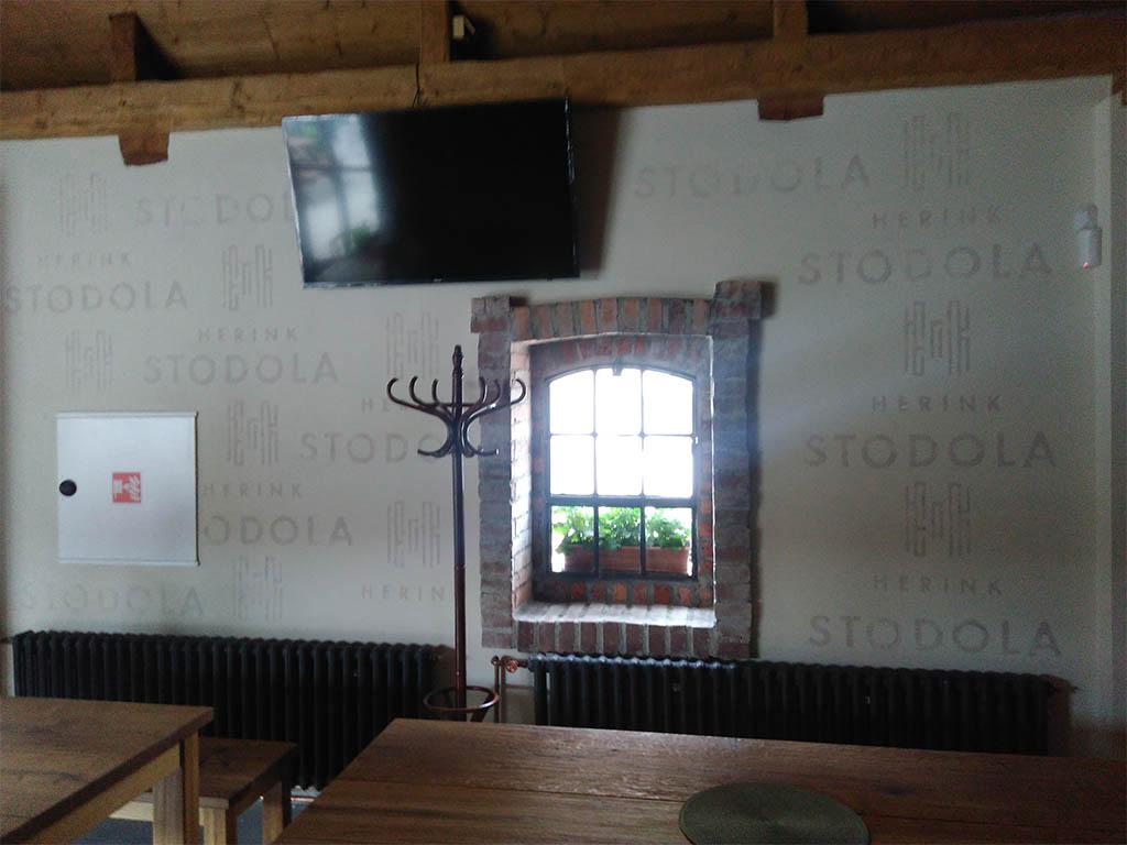 Stodola Herink - Pivnice po rekonstrukci 2018