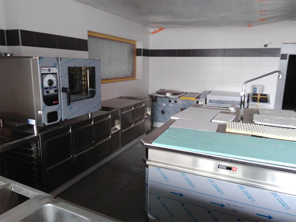 Stodola Herink Stavba Kuchyně