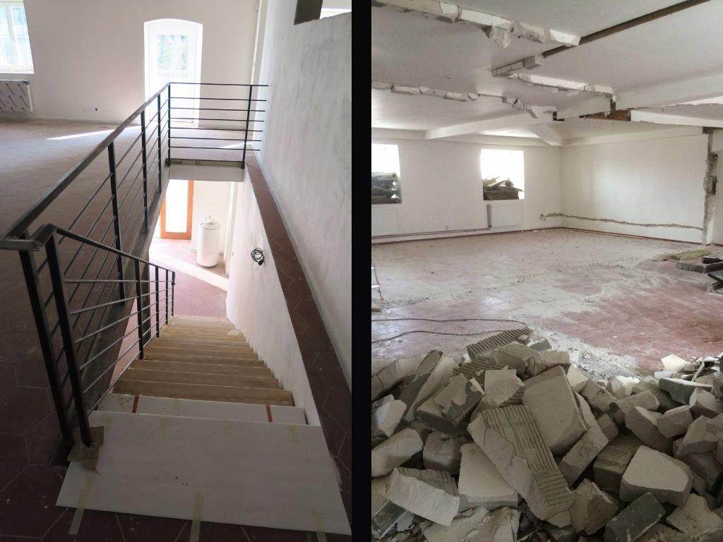 Stodola Herink - rekonstrukce horního patra