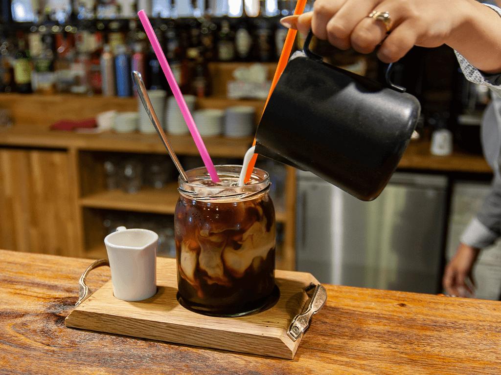 Domácí ledová káva